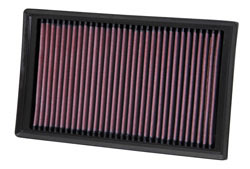 K&N Replacement Air Filter for Volkswagen, Audi, Skoda Octavia and Seat Leon Vehicles