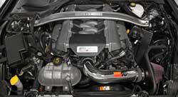 Compartiment moteur de la Ford Mustang GT 5.0 2015-2016