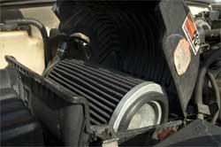 Le filtre à air K&N 1,6 millions de kilomètres dans le pickup Chevrolet de Carl