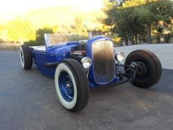 Le Ford Pick-up roadster 1932 a été construit par Wellbilt Kustoms à Buena Park, CA