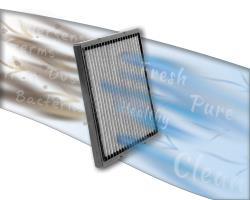 Les filtres à air de cabine K&N fonctionnent sur 10 ans (ou plus) ou 1,6 millions de kilomètres