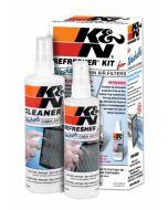 99-6000 K&N Kit de nettoyage pour filtres pour habitacle