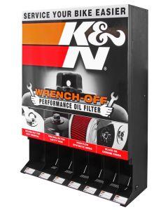 87-11614 K&N Distributeur; filtre à huile K&N, sports mécaniques