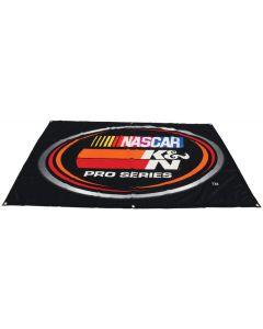 89-11843 K&N Bannière en nylon K&N NASCAR Pro Series