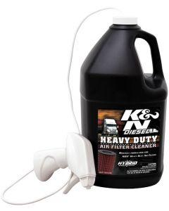 99-0638 K&N Filtre lourds à air de nettoyage, DryFlow 1 gal, 128 once