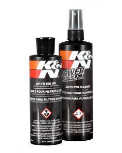 99-5050 K&N Kit d'entretien du filtre - Pression rouge