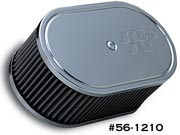 Custom Air Filter 56-1210 for Weber Carburetor
