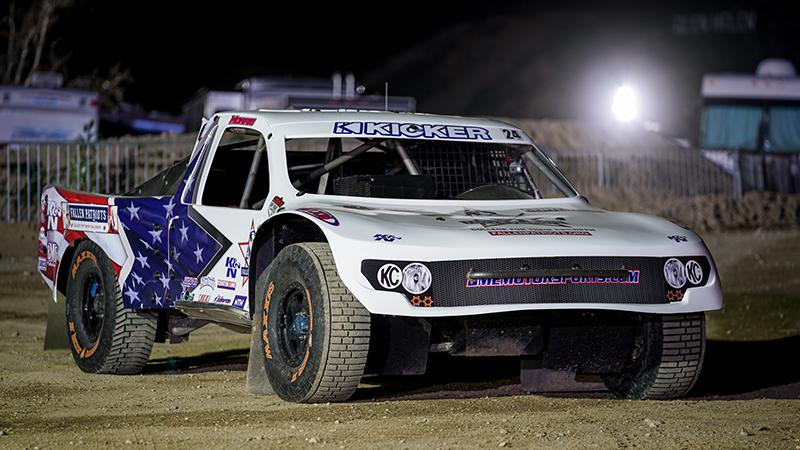 Bradley Morris from BME Motorsports is racing in the Fallen Patriots/K&N Pro4 truck for the 2019 season